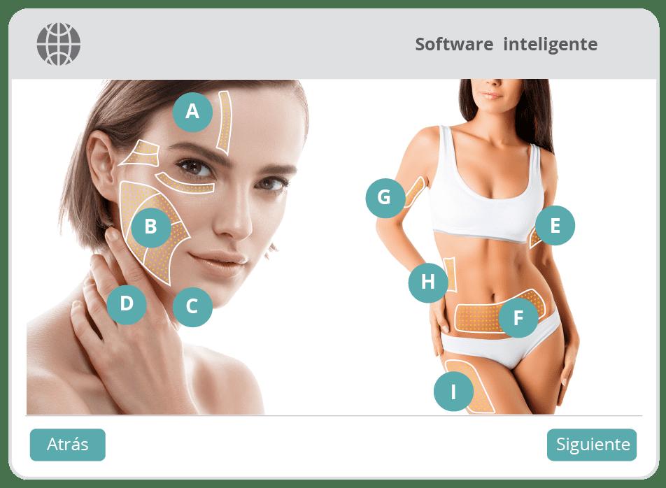 Software inteligente HIFU Med-Apolo